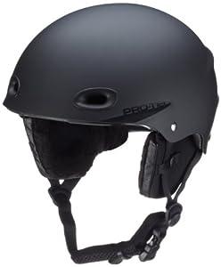 Pro-tec VQJ36NG Men's Regulator Snow Helmet matte rubber black 12 Size:55-56 cm