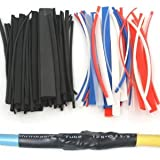 Anytime Tools 96 pc HEAT SHRINK TUBING WRAP SLEEVES ASSORTED COLOR