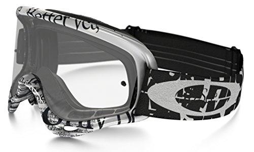 Oakley O-Frame MX Tagline Goggles (White Frame/Clear Lens)