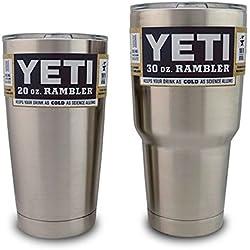 Yeti Rambler Tumbler Set, 30 oz & 20 oz