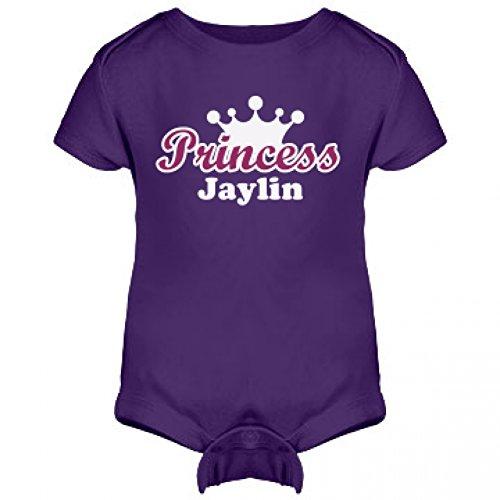 Princess Jaylin Onesie: Infant Rabbit Skins Lap Shoulder Creeper