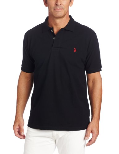 U s polo assn men s solid polo shirt with small pony for Us polo shirts offers