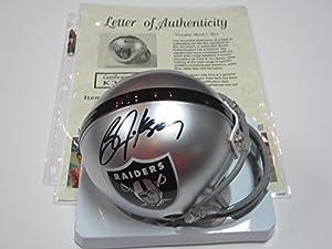 Bo Jackson Oakland Raiders Signed Autographed Mini Helmet Authentic Certified Coa