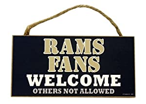 St. Louis Rams Wood Sign - 5
