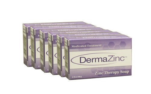 DermaZinc Zinc Therapy Soap, 3.75oz, 6 Pack - 1
