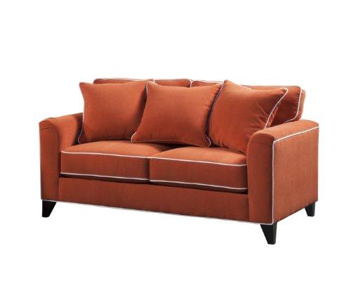 Furniture Of America Verite Chenille Loveseat 68 Sunkist