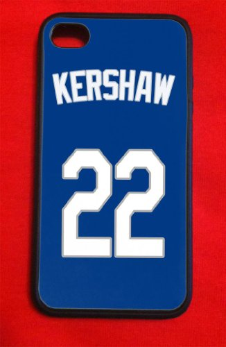 Clayton Kershaw Los Angeles Dodgers Iphone 4/4s Case BLUE at Amazon.com