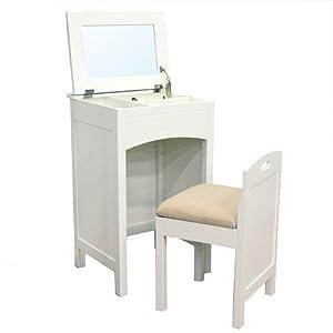 Amazon Com Lamont Home Cheswick Vanity Set White Home