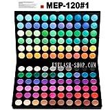 アイシャドウパレット メイクパレット 120色 プロ用 アイシャドウ、アイズパレット MEP-120#01 ランキングお取り寄せ