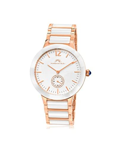 Porsamo Bleu Women's Clarissa Ladies 551CCLC Rose Gold-Tone/White Stainless Steel Watch