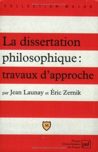 Aide philosophie dissertation