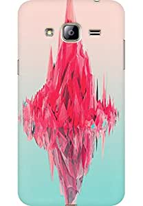 AMEZ designer printed 3d premium high quality back case cover for Samsung Galaxy J3 2016 (abstract art )