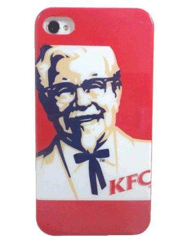 【 One2 Corporation 】 KFC/ケンタッキーフライドチキン/カーネル・サンダース iphoneケース(iphone4/4S兼用ケース)