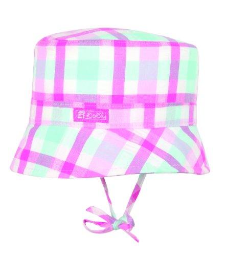 Döll Mädchen Hut, kariert 1335400539 Bindehut, Gr. 47, Pink (2023 fuchsia pink)