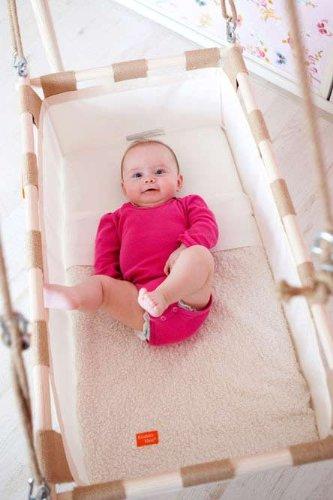Federwiege für Tag und Nacht von Kindekeklein | Hängewiege
