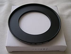 HeavyStar Dedicated Metal Stepup Ring 52mm-77mm