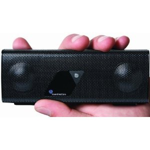 Soundmatters foxLv2 Pocket-sized Audiophile Loudspeaker System (Black) [Non-Bluetooth Version]