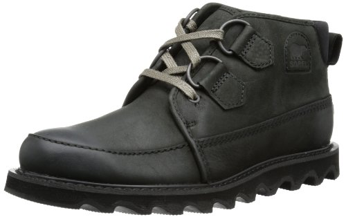 Sorel Mens MAD DESERT II Derby#425 Black Schwarz (Black 010) Size: 46