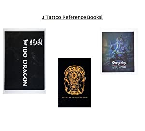 Lot of 3 tattoo reference sketch books 100 for Tattoo reference books