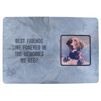 Hueter Toledo Photo Frame Memory Best Friend Stone Pet Memorial