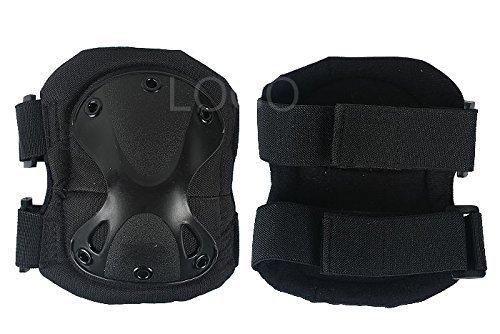 XTAK type SWAT elbow knee protector elbow pad kneepad black elbow pads knee pads