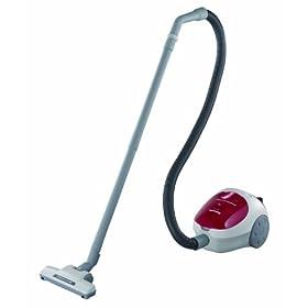 Panasonic MC-CG301 Canister Vacuum Cleaner, Red/White finish
