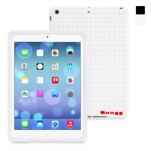 Snugg iPad Air Silicone Case in White - Non-Slip Material, Protective and Soft to Touch for the Apple iPad Air