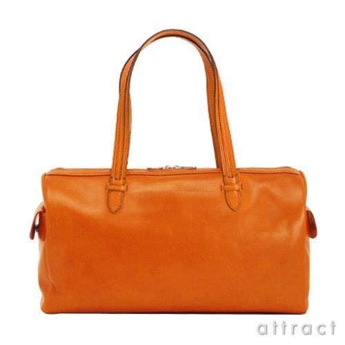 HERGOPOCH エルゴポック Glaze グレイズ Glazed Leather グレイズドレザー ミニボストンバッグ(GL-BST) (オレンジ)