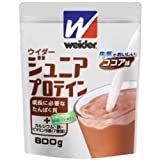 ミズノ(MIZUNO) ウイダー ジュニアプロテイン 800g(ココア味) 28MM72217 800g