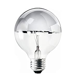 Philips #167023 - 40W 120V G25 E26 Decor Duramax Incandescent Vanity Clear Light Bulb - Standard ...