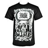 Napalm Death Scum Print T Shirt (Black)