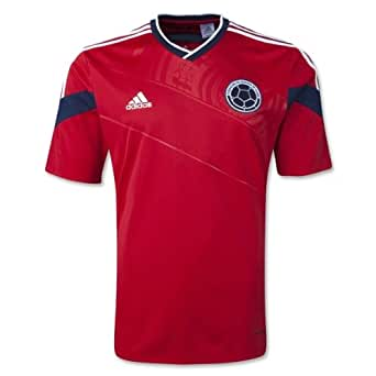 adidas Colombia Away 2014 World Cup Soccer Jersey (US Size S)