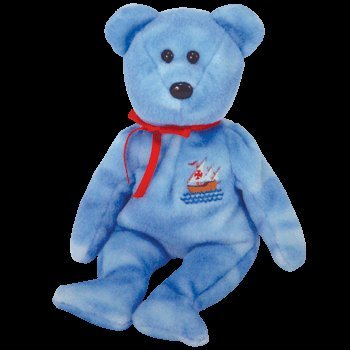 1 X TY Beanie Baby - NINA the Bear (Internet Exclusive) - 1