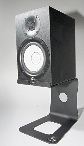 Soundrise professional desktop speaker stands black pair for Yamaha hs5 speaker stands