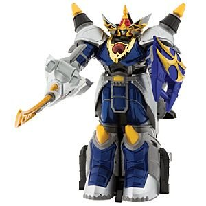 Power Rangers Jungle Fury EXCLUSIVE Deluxe Transforming Rhino Steel Megazord