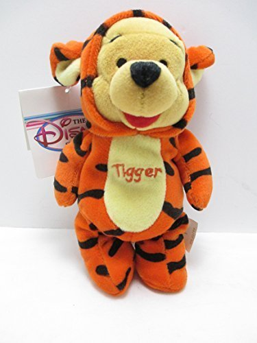 Pooh As Tigger - Disney Mini Bean Bag Plush - 1