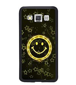 PRINTVISA The Embarasing Girl Premium Metallic Insert Back Case Cover for Samsung Galaxy A3 - A300F - D5644