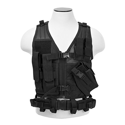 VISM CTVC2916B Tactical Vest Childrens/black