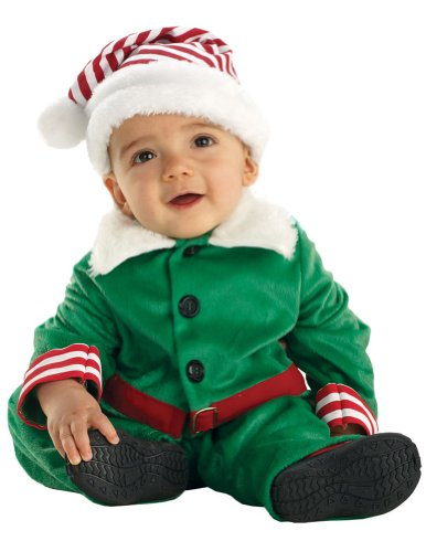 Underwraps - Elf Boy Toddler Costume 2T-4T Halloween Costumes - 2T-4T by Unknown