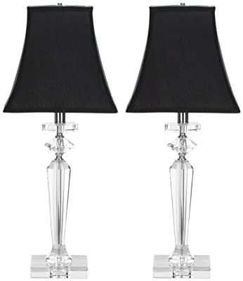 Safavieh Lighting Collection Harlow Crystal 25-inch Table Lamp (Set of 2)