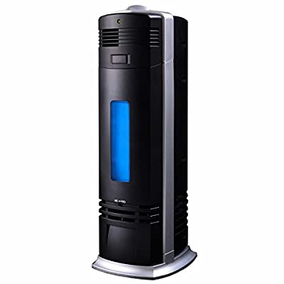 Carbon Ionic Air Purifier Ionizer Negative Fresh Ions Pro Breeze Black New
