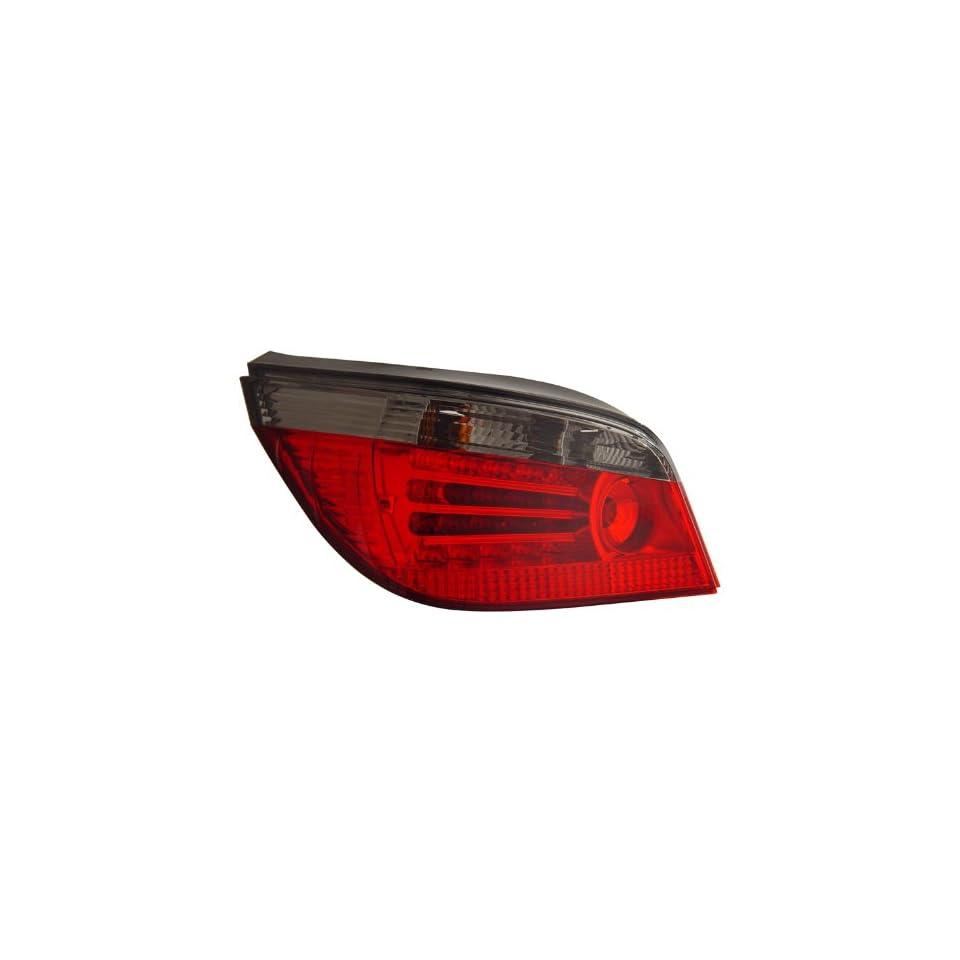 2004 2007 Bmw 5 series E60 Led Tail Lights Red/smoke