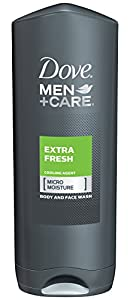 Dove Men And Care Body And Face Wash, Extra Fresh, 13.5 Ounce