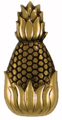 Michael Healy Designs MH-R01 Brass Pineapple Doorbell Ringer, 3-3/4-Inch