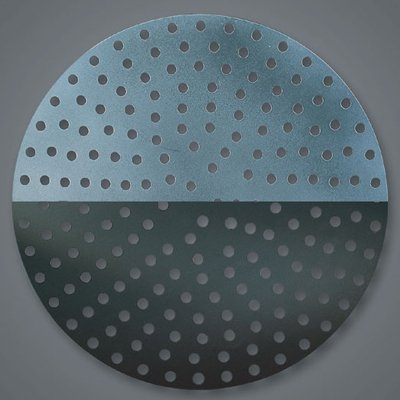 "American Metalcraft Perforated Aluminum 11"" Pizza Disk"