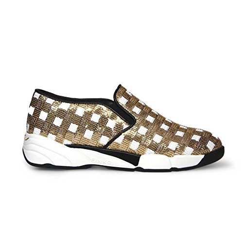 SNEAKER SLIP ON SEQUINS PINKO
