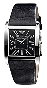 Armani AR2007 Emporio Armani Slim Leather Mens Watch AR2007