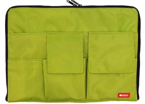 バッグインバッグ A4【黄緑】 A7554-6