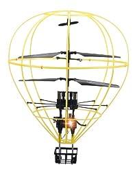 3ch IRC 気球型 ヘリコプター フライング バルーン 黄