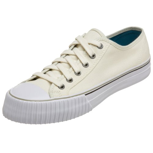 PF Flyers Men's Center Lo Riess Sneaker,Ivory,5.5 M